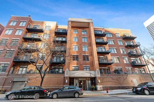 550 W Fulton Street #404, Chicago, IL 60661 (MLS #10947687) :: The Wexler Group at Keller Williams Preferred Realty