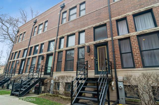 1217 N Hoyne Avenue F, Chicago, IL 60622 (MLS #10965336) :: The Wexler Group at Keller Williams Preferred Realty