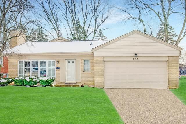 707 W Milburn Avenue, Mount Prospect, IL 60056 (MLS #10966263) :: Jacqui Miller Homes