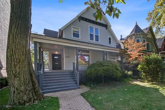 2545 W Logan Boulevard W, Chicago, IL 60647 (MLS #10968446) :: Helen Oliveri Real Estate