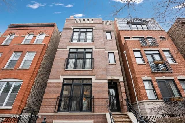 850 W Aldine Avenue #1, Chicago, IL 60657 (MLS #10975929) :: Helen Oliveri Real Estate