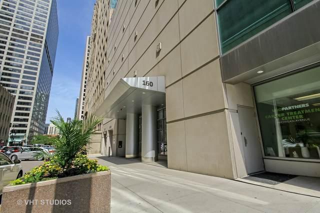 160 E Illinois Street #1708, Chicago, IL 60611 (MLS #10992721) :: The Spaniak Team