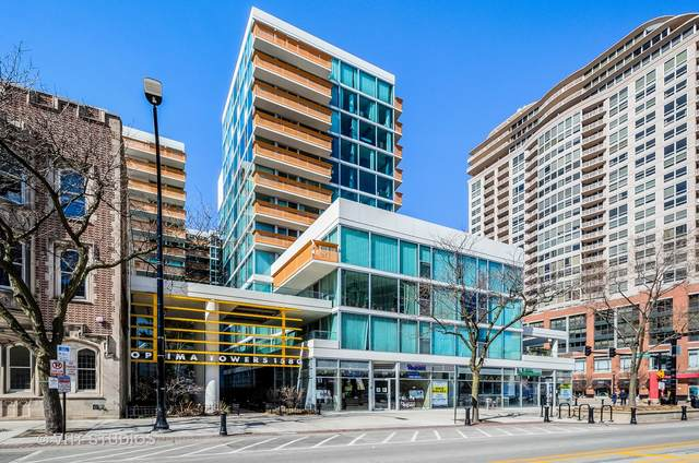 1580 Sherman Avenue #909, Evanston, IL 60201 (MLS #11019580) :: Littlefield Group