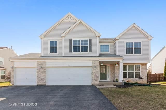 547 Wildmeadow Drive, Bolingbrook, IL 60490 (MLS #11031829) :: Helen Oliveri Real Estate