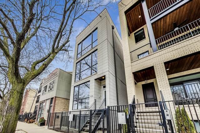 1216 W Hubbard Street #1, Chicago, IL 60642 (MLS #11037734) :: Touchstone Group