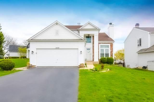 1553 Knoll Crest Drive, Bartlett, IL 60103 (MLS #11058706) :: RE/MAX IMPACT