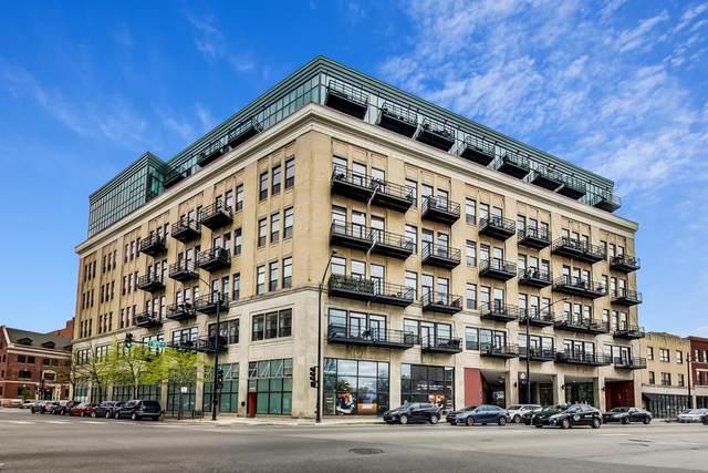 1645 W Ogden Avenue #822, Chicago, IL 60607 (MLS #11067945) :: The Spaniak Team