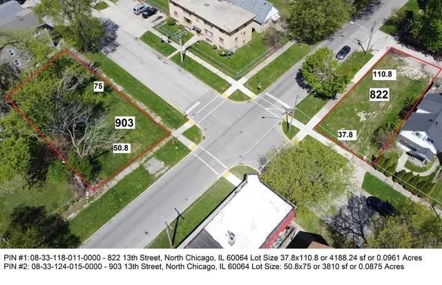 822 13th Street, North Chicago, IL 60064 (MLS #11077907) :: Helen Oliveri Real Estate