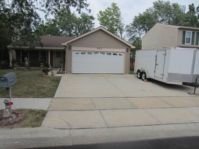 837 Kansas Street, Carol Stream, IL 60188 (MLS #11211544) :: The Wexler Group at Keller Williams Preferred Realty