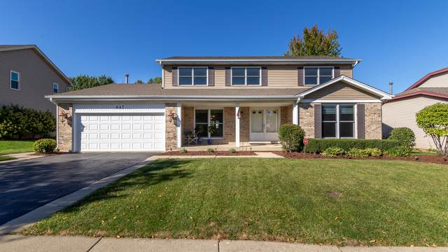 647 Matthew Lane, Carol Stream, IL 60188 (MLS #11240280) :: John Lyons Real Estate