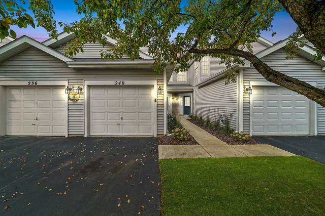 240 Meribel Court #1, Schaumburg, IL 60194 (MLS #11249920) :: John Lyons Real Estate