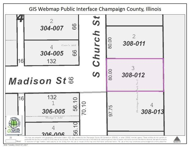 Lot 3 S Church Street, HOMER, IL 61849 (MLS #09523091) :: Littlefield Group