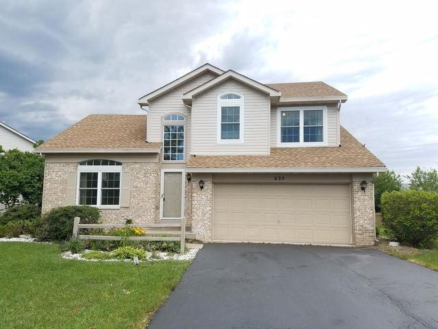 635 Salem Circle, Oswego, IL 60543 (MLS #09665535) :: Angie Faron with RE/MAX Ultimate Professionals