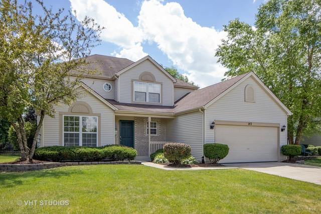142 Wedgeport Circle, Romeoville, IL 60446 (MLS #09666233) :: Angie Faron with RE/MAX Ultimate Professionals