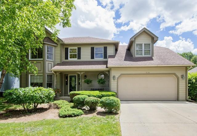 516 Waubonsee Circle, Oswego, IL 60543 (MLS #09674677) :: Littlefield Group