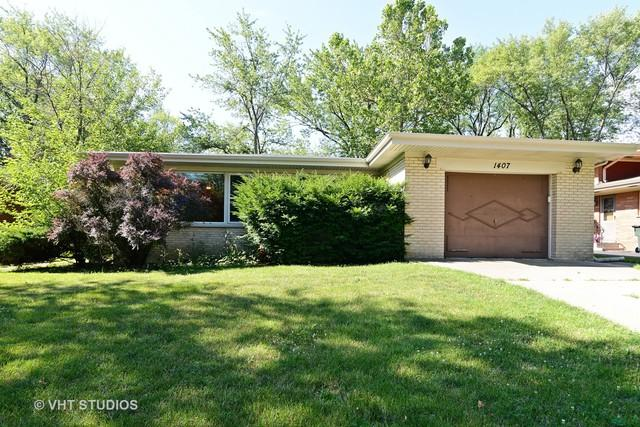 1407 E Lyn Court, Homewood, IL 60430 (MLS #09694107) :: The Wexler Group at Keller Williams Preferred Realty