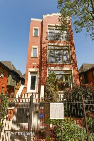 1332 N Wolcott Avenue #3, Chicago, IL 60622 (MLS #09694999) :: Property Consultants Realty