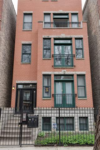 1038 N Marshfield Street #3, Chicago, IL 60622 (MLS #09696262) :: Property Consultants Realty