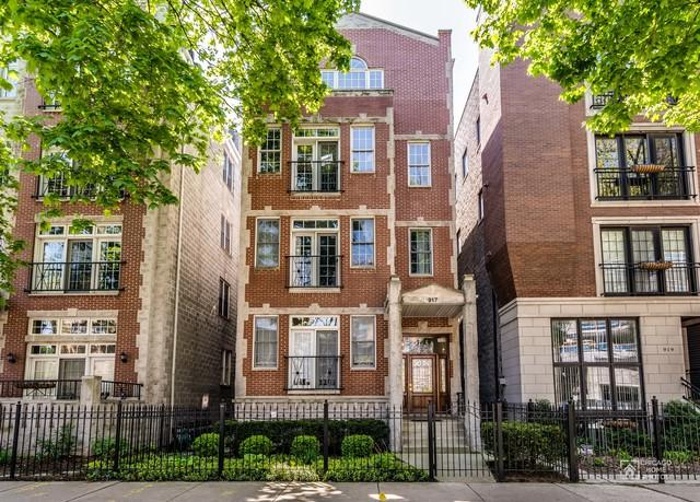 917 W Altgeld Street #1, Chicago, IL 60614 (MLS #09696935) :: Property Consultants Realty