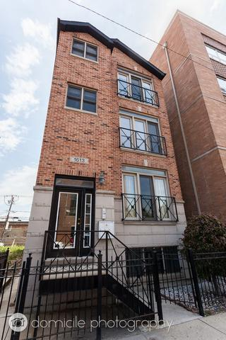 1613 W Grand Avenue #2, Chicago, IL 60622 (MLS #09697594) :: Property Consultants Realty