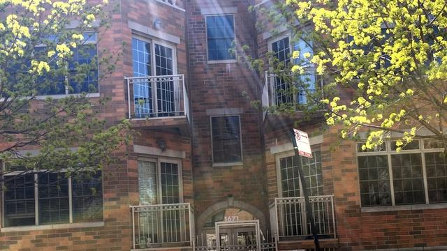 1671 N Claremont Avenue #9, Chicago, IL 60647 (MLS #09704408) :: The Perotti Group