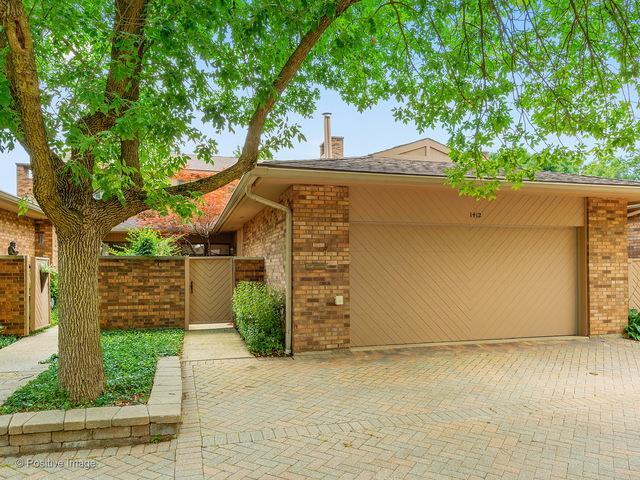 1412 Burr Oak Court 14-B, Hinsdale, IL 60521 (MLS #09709248) :: Domain Realty
