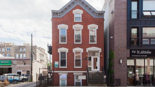 1713 W North Avenue 1R, Chicago, IL 60622 (MLS #09715928) :: The Perotti Group