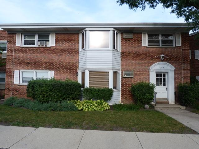 514 W Miner Street 1E, Arlington Heights, IL 60005 (MLS #09722925) :: The Schwabe Group