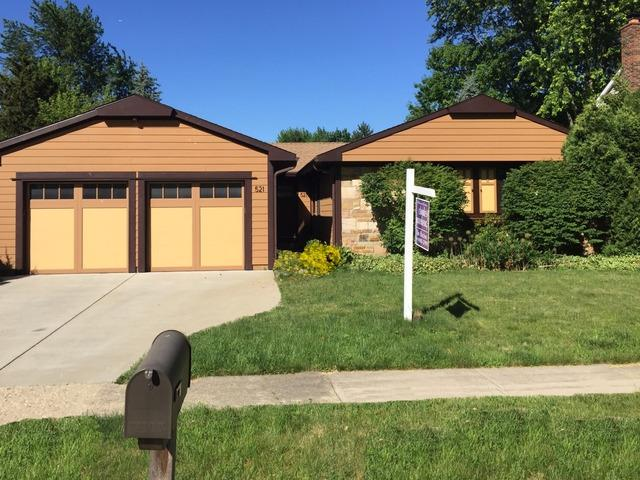 521 Castlewood Lane, Buffalo Grove, IL 60089 (MLS #09723304) :: The Schwabe Group