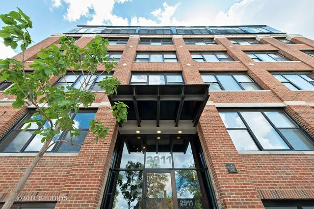 2911 N Western Avenue #501, Chicago, IL 60618 (MLS #09723746) :: The Perotti Group