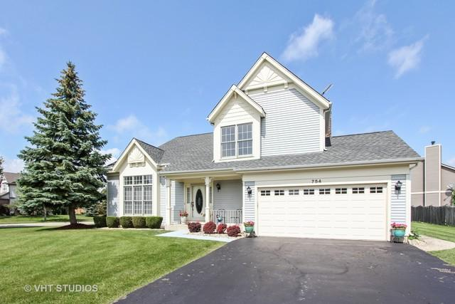 754 Warwick Lane, Lake Zurich, IL 60047 (MLS #09725633) :: The Jacobs Group