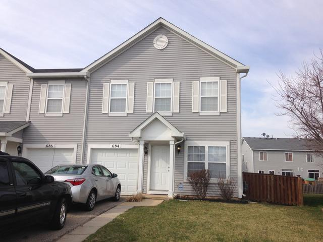 684 Edward Drive #684, Romeoville, IL 60446 (MLS #09726851) :: Angie Faron with RE/MAX Ultimate Professionals