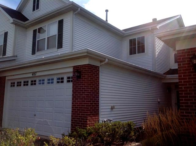 487 Dancer Lane #487, Oswego, IL 60543 (MLS #09727917) :: Angie Faron with RE/MAX Ultimate Professionals