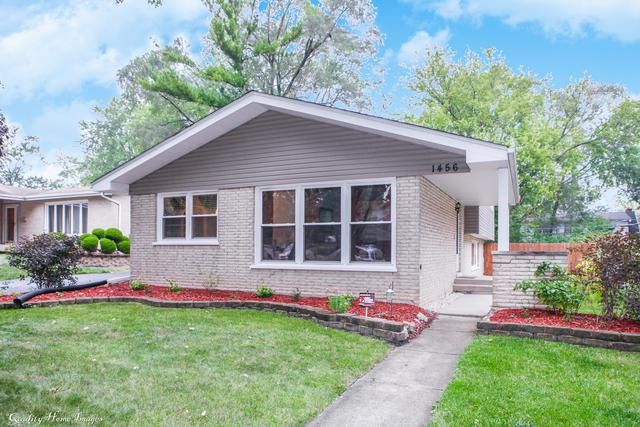 1456 Carson Drive, Homewood, IL 60430 (MLS #09751864) :: The Wexler Group at Keller Williams Preferred Realty