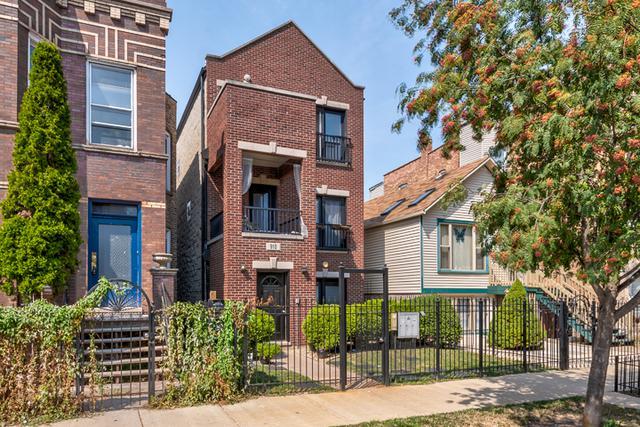 910 N Washtenaw Avenue #3, Chicago, IL 60622 (MLS #09755102) :: Domain Realty