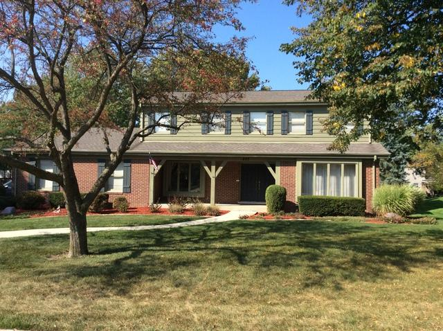 437 Bennacott Lane, Burr Ridge, IL 60527 (MLS #09755493) :: The Wexler Group at Keller Williams Preferred Realty
