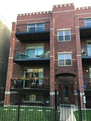 3241 W Palmer Street 3W, Chicago, IL 60647 (MLS #09755793) :: Domain Realty