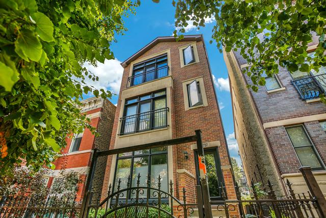 2737 W Thomas Street #3, Chicago, IL 60622 (MLS #09756133) :: Property Consultants Realty