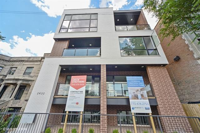 2432 W Chicago Avenue 3S, Chicago, IL 60622 (MLS #09756209) :: Property Consultants Realty