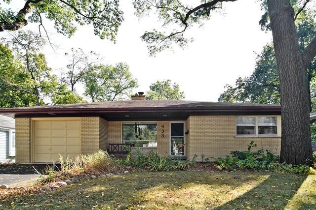 433 S Gables Boulevard, Wheaton, IL 60187 (MLS #09756777) :: The Dena Furlow Team - Keller Williams Realty