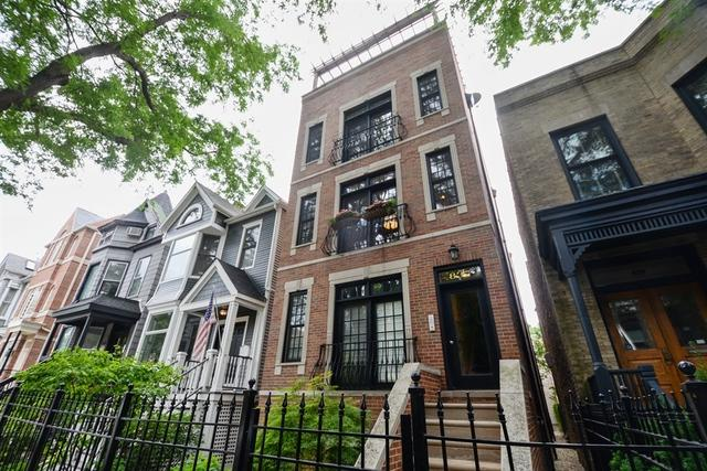 837 W Wrightwood Avenue #2, Chicago, IL 60614 (MLS #09757233) :: Domain Realty
