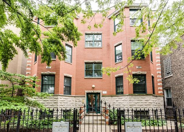 905 N Wood Street 3S, Chicago, IL 60622 (MLS #09757263) :: Property Consultants Realty