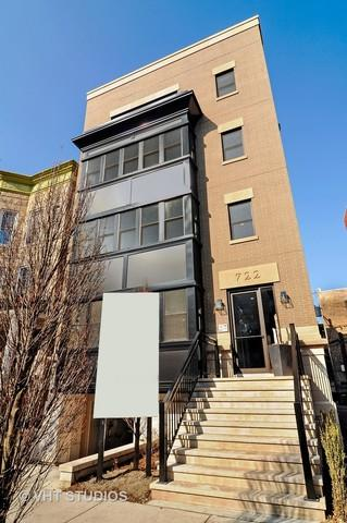 722 W Melrose Street #1, Chicago, IL 60657 (MLS #09757851) :: Property Consultants Realty