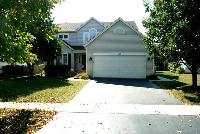 270 Columbine Lane, Romeoville, IL 60446 (MLS #09758907) :: The Wexler Group at Keller Williams Preferred Realty