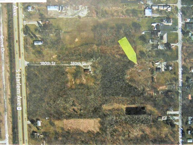 Lot 25 180th Street, Tinley Park, IL 60477 (MLS #09759372) :: The Wexler Group at Keller Williams Preferred Realty