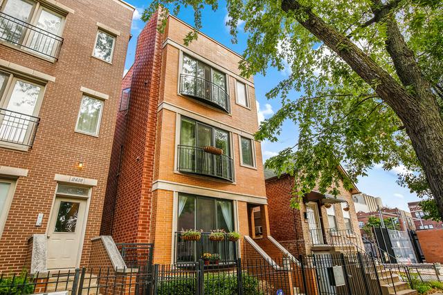 2414 W Thomas Street #3, Chicago, IL 60622 (MLS #09763982) :: The Perotti Group