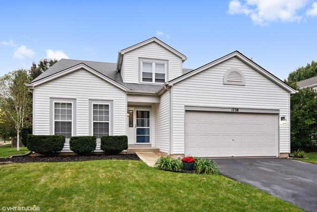 1738 Autumn Woods Lane, Romeoville, IL 60446 (MLS #09775800) :: Angie Faron with RE/MAX Ultimate Professionals
