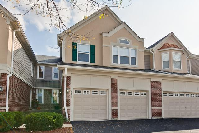 399 Pine Lake Circle #399, Vernon Hills, IL 60061 (MLS #09778666) :: The Schwabe Group