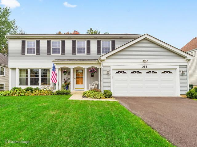 318 Meadow Green Drive, Naperville, IL 60565 (MLS #09779613) :: Angie Faron with RE/MAX Ultimate Professionals