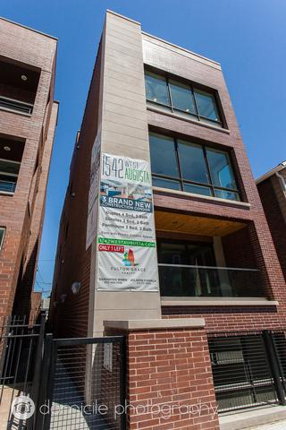 1542 W Augusta Boulevard Pnth, Chicago, IL 60642 (MLS #09779714) :: The Perotti Group